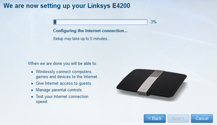 linksys router sign in